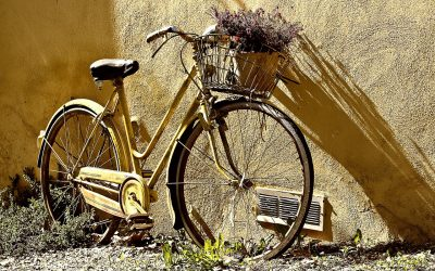 Kom naast me fietsen!